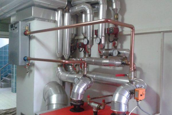 Kombinovana kotlarnica gas i struja II