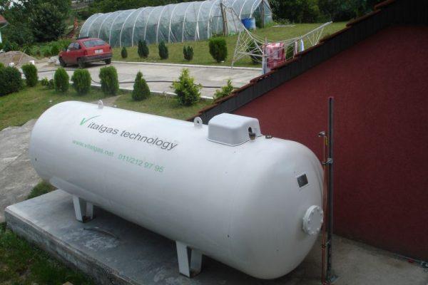 Rezervoar za gas